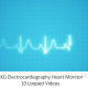EKG Electrocardiography Heart Monitor Pack