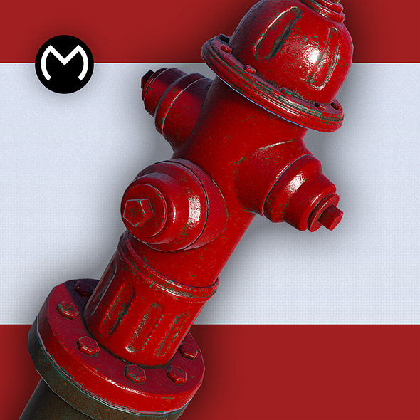 Fire Hydrant - Real Time PBR