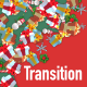 3D Christmas Gifts Transition