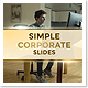 Simple Corporate Slides Luxurious