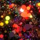 Magic Neon Particles Dance