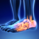 Male Having Acute Pain In The Ankle