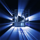 Cinematic Light Rays Logo Reveal
