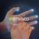 Interactive Hand Hologram Opener