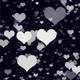 Classy Heart Background