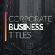 Corporate Business Titles