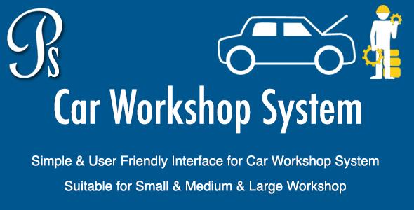 Automobile Workshop System - PHP Script Download
