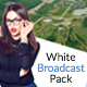 White TV - Clean Broadcast Pack