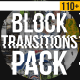 Block Transitions Pack | 110 +