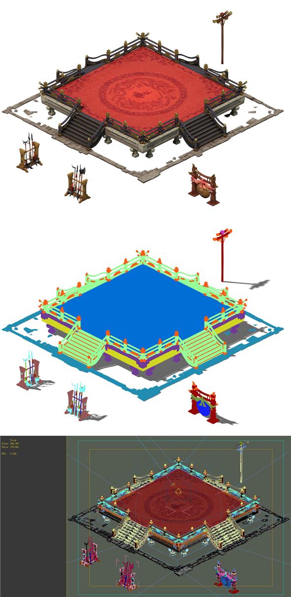 Game Model - City - Contest