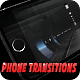 Phone Transitions on Dark Background