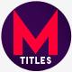 Modern Minimal Titles