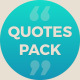 Quotes Pack