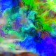 Watercolor Space Flowers Transitions