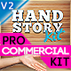 Explainer Story Hand Commercial