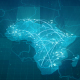 Globalization Africa Map Animation HD