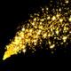 Gold Glitter Elements