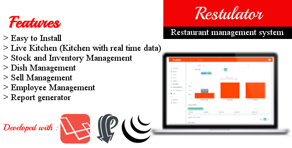 , Restulator – Restaurant Management System in Laravel 5.5 with Pusher and jQuery, Laravel & VueJs, Laravel & VueJs
