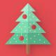 Flat Christmas / New Year Wish