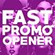 Fast Promo Opener - Fashion Style