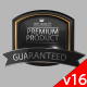 3D Animated Product Quality Guarantee Symbol V16