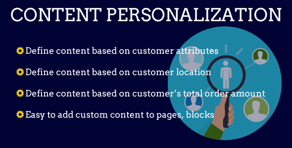 personalization content inline preview