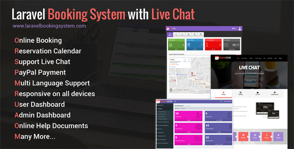 , Laravel Booking System with Live Chat – Appointment Booking Calendar, Laravel & VueJs
