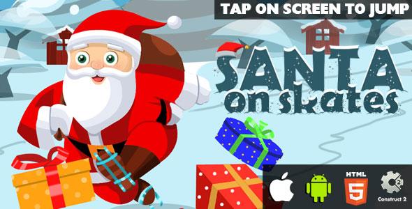 Santa On Skates - HTML5 Sport (CAPX) - PHP Script Download 1