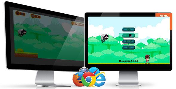 Slump Ninja-HTML5 Informal Sport  - PHP Script Download 1