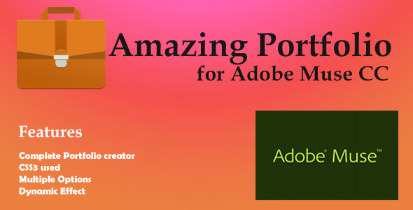 Incredible Porfolio for Adobe Muse  - PHP Script Download 1