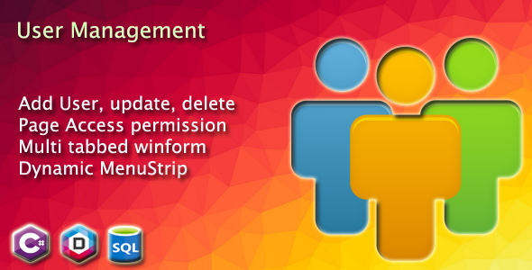 User administration and Dynamic MenuStrip with Accumulate admission to privilege in winform  - PHP Script Download 1
