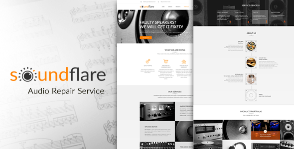 Html Electronics Website Templates From Themeforest