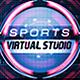 Sports Virtual Studio Set