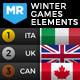 2022 Winter Games Elements - Medal Tracker & Event Results - Beijing China