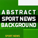 Abstract Sport News Background
