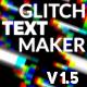 Glitch Text Maker