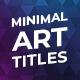 Minimal Art Titles