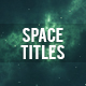 Space Titles