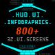 HUD Pack 800+