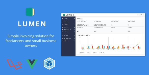 , Lumen – A simple invoicing solution, Laravel & VueJs