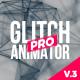 Glitch Text Animator PRO