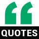 Clean Minimal Quotes