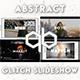 Abstract glitch slideshow