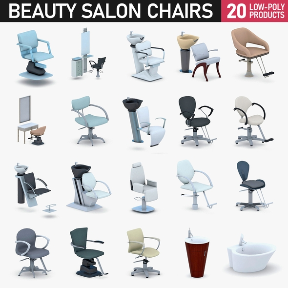 Beauty Salon Chairs Collection