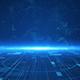 Digital Technology Plexus Lines Background