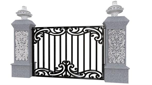Exterior Gate architectural DOOR
