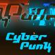 Cyberpunk Glitch Logo