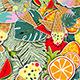 Summer Popart Background