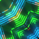 Glow Neon Mandala