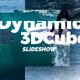 Dynamic 3D Cubes Slideshow